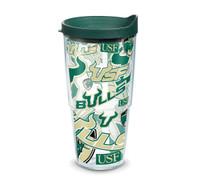 USF Bulls 24oz All Over Tervis Tumbler