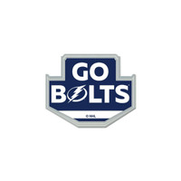 Tampa Bay Lightning Playoffs GO BOLTS Collector's Pin