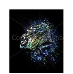 VDD Exclusive Gorilla Warfar - Black Blue Splatter