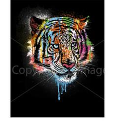 VDD Exclusive Tiger Black Female Splatter