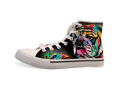 VDD Exclusive Bulldog Splatter Sneaker