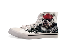 VDD Exclusive Bulldog Red Motor Cycle Sneaker