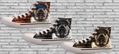 Custom Printed Sneaker