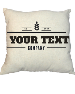 Pillow - Vintage Stamp 1005