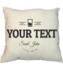Pillow - Vintage Stamp 1009