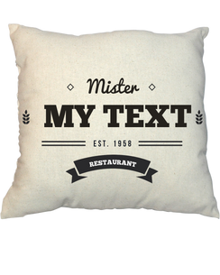 Pillow - Vintage Stamp 1013