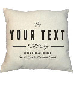 Pillow - Vintage Stamp 1014