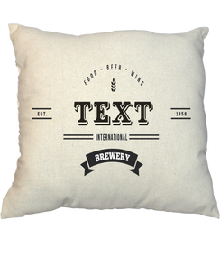 Pillow - Vintage Stamp 1015
