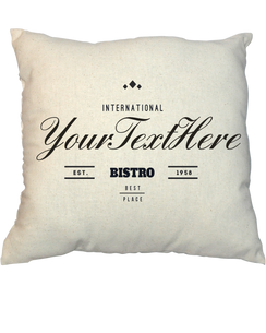 Pillow - Vintage Stamp 1018