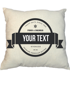 Pillow - Vintage Stamp V21000