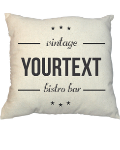 Pillow - Vintage Stamp V21007