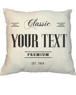 Pillow - Vintage Stamp V21011