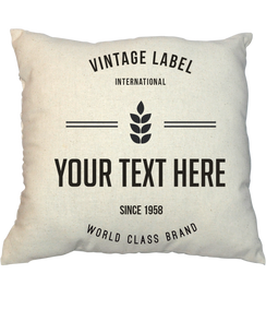 Pillow - Vintage Stamp V21016