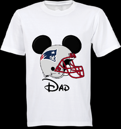 Mickey MouseTeam Patriots Custom