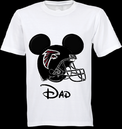 Mickey Mouse Team Falcons Custom