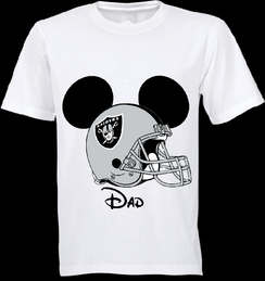 Mickey Mouse Team Raiders Custom