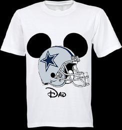 Mickey Mouse Team Cowboys Custom