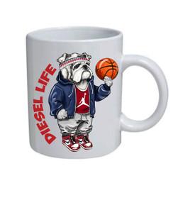 Diesel Life Arched Logo Mug