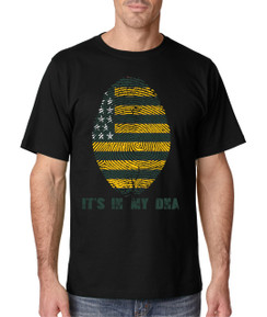 Sports DNA Mens Tshirt Green Bay Wisconsin Flag Boys Tshirt Baby Football Ears Tshirt Infant Big Tall Plus Sizes Custom Tee