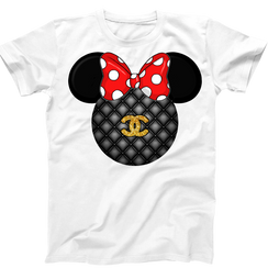 Disney Minnie Mouse Ladies Tshirt Girls Tshirt Baby