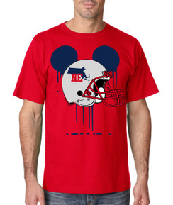 Sports Bleed  Boston Football Ears Tshirt Mens Boys Baby Infant Bleed Theme Big Tall Plus Sizes Custom Tee