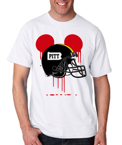 Sports Bleed PIT Pittsburgh Football Ears Tshirt Mens Boys Baby Infant Bleed Theme Big Tall Plus Sizes Custom Tee