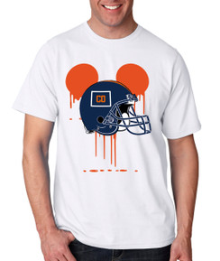 Sports Bleed Denver Football Ears Tshirt Mens Boys Baby Infant Bleed Theme Big Tall Plus Sizes Custom