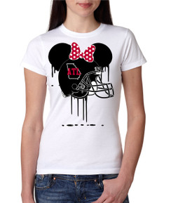Sports Bleed ATL Atlanta Football Ears Tshirt Mens Boys Baby Infant Bleed Florida Theme Big Tall Plus Sizes Custom
