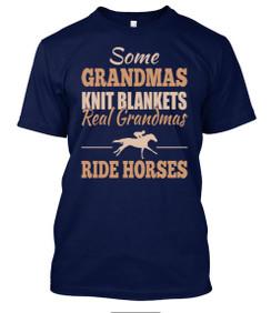 Grandmas Horses TShirt
