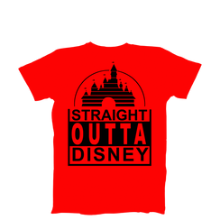 Disney Straight Outta  Ladies Tshirt Girls Tshirt Baby Bodysuit