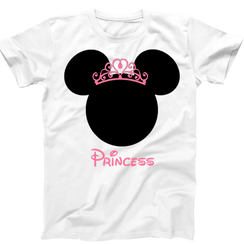 Disney Personalized Minnie Mouse Ladies Tshirt Girls Tshirt Baby Bodysuit