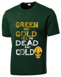 Green Bay Green and Gold Mens T-shirt Boys T-shirt