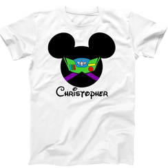 Disney Mickey Mouse Buzz Lightyear Toy Story Boys Tshirt Mens Tshirt