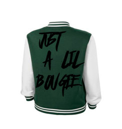 Bougie Just a Little Bougi Varsity Ladies Jacket