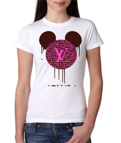 Disney Minnie Mouse Bleed Designer  Ladies Tshirt Girls Tshirt Baby Bodysuit