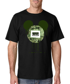 Disney Mickey Mouse CO Denver Bleed Weed Leaf Beer Liquor Men Tshirt Ladies Tshirt Baby Bodysuit Youth Tshirt Green
