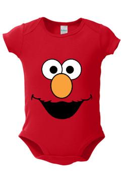 Sesame Street Elmo Cookie Monster Grover Oscar The Grouch Big Bird Baby Bodysuit