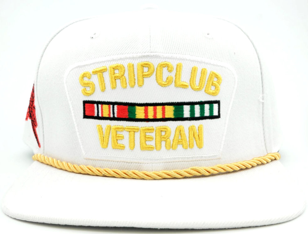 437a5aa528b Strip Club Veteran Hat Free Text Embroidery. Price   35.00. Image 1