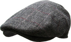 Plaid Newsboy Ascot Hat  Free 1 Location Text
