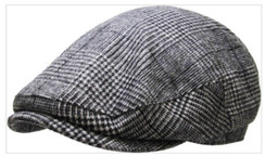 Plaid Newsboy Ascot Hat  Free 1 Location Text 1