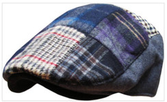 Plaid Newsboy Ascot Hat  Free 1 Location Text 2