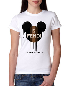 Bleed FF Disney Minnie Mouse Bleed FF Ladies Tshirt Girls Tshirt Baby Bodysuit