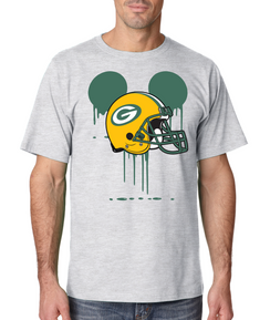 Disney Mickey Packers Bleed Mouse Team Packers Custom