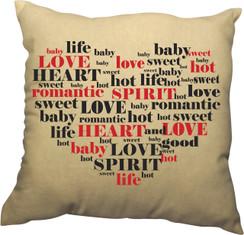 Pillow - Words of the Heart Design II