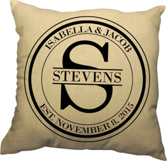 Pillow - Monogram Name