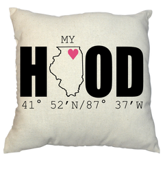 Pillow - My Hood
