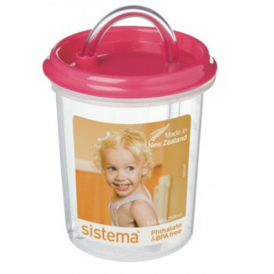 Dinkee Drinker with Straw from Sistema. Very popular!
