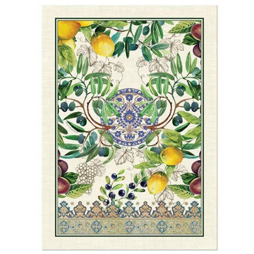 Tuscan Grove Tea Towel by Michel Design Works