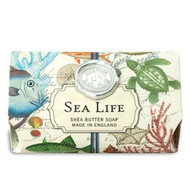 Sea Life Large Bath Soap by Michel Design Works