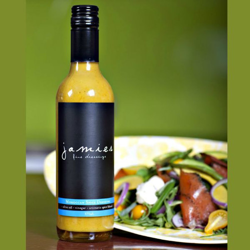 Moroccan Spice Dressing by Jamies Fine Dressings - Nicely bottled with attractive labelling.